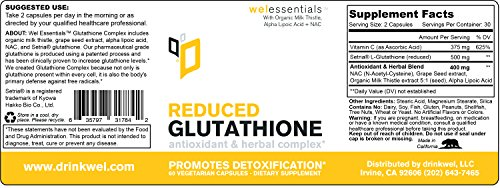 Wel-Essentials-Glutathione-Complex-Antioxidant-Herbal-Complex-to-Promote-Detoxification-With-Glutathione-reduced-NAC-Alpha-Lipoic-Acid-Organic-Milk-Thistle