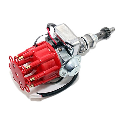 - Assault Racing Products 1135111 for Ford Windsor 351W Electronic Ready To Run Drop-In Distributor Red Small Cap SBF