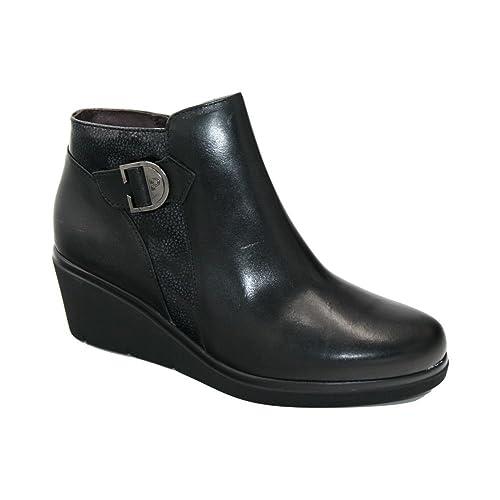 Pitillos 5239 botín culña Combinado Negro: Amazon.es: Zapatos y complementos