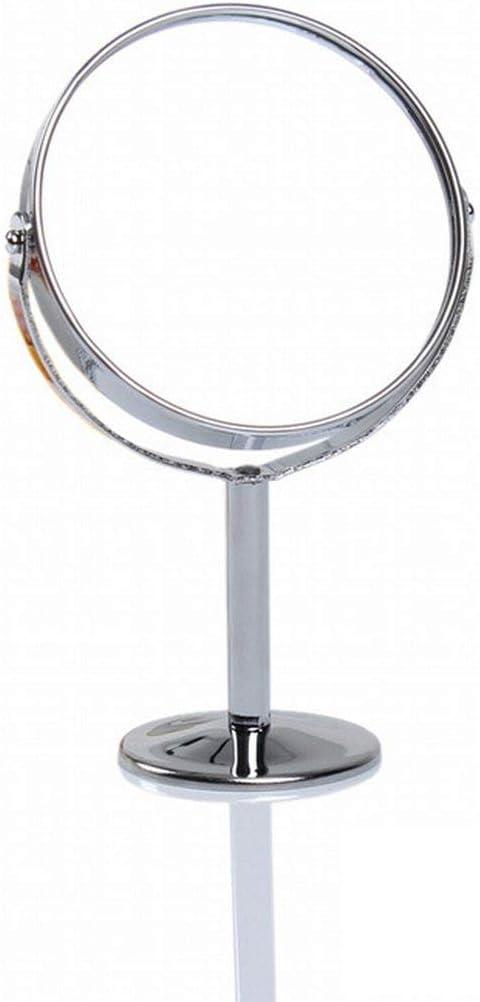 360-Grad-Drehung Doppelseitiger Kosmetikspiegel Hochzeitsspiegel mit tragbarem Kosmetikspiegel Paperllong/®