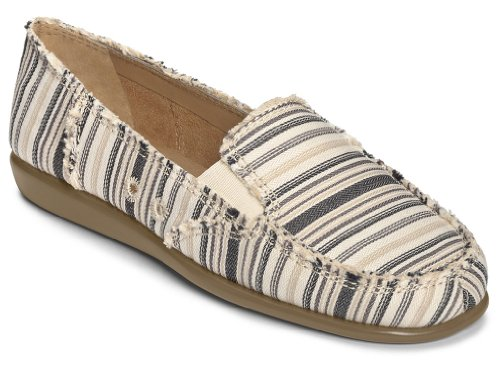 Aerosoles Women's So Soft Synthetic Boat Shoe,Black/Tan Combo,6 M US