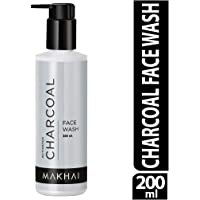 Makhai Activated Charcoal Face Wash For Men & Women (Acne ,Pollution, Oil and Tan Removal) F | 200 ml