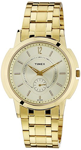 Timex Empera Analog Silver Dial Men #39;s Watch   TW000U305