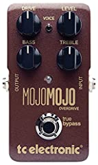 Mojomojo overdrive is the overdrive pedal that will breathe life, magic and that certain something into your sound, making your playing stand out.