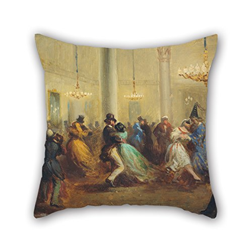 [Loveloveu Throw Cushion Covers 16 X 16 Inches / 40 By 40 Cm(2 Sides) Nice Choice For Bedding,festival,lover,couch,office,kids Boys Oil Painting Ricardo Balaca - The Baile De] (Diy Tree Frog Costume)