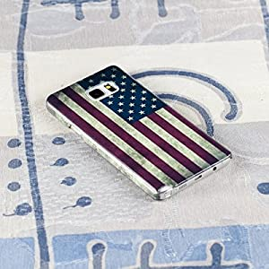 Samsung Galaxy Note 5 Protective Slim Case. Flag of the United States, USA Flag.