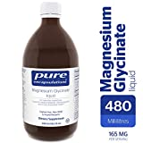 Pure Encapsulations - Magnesium Glycinate Liquid - Supports Musculoskeletal, Cardiometabolic and Emotional Health