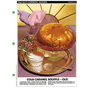 McCall's Cooking School Recipe Card (Cakes, Cookies 31 - Peanut Butter Cake) (Replacement Recipage / Recipe Card For 3-Ring Binders) Marianne Langan and Lucy Wing
