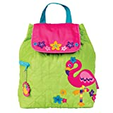 quilted backpack diaper bag - Stephen Joseph Quilted Backpack, Flamingo,One Size