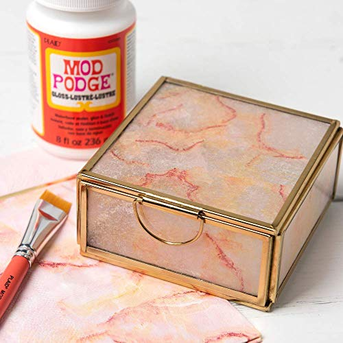 Mod Podge CS11201 Waterbase Sealer, Glue & Decoupage Finish, 8 oz, Gloss, 8 Fl Oz