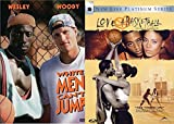 White Men Can't Jump + Love & Basketball DVD Double Feature Collection Set 2 Movies