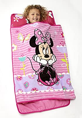 Disney Minnie Mouse Toddler Rolled Nap Mat