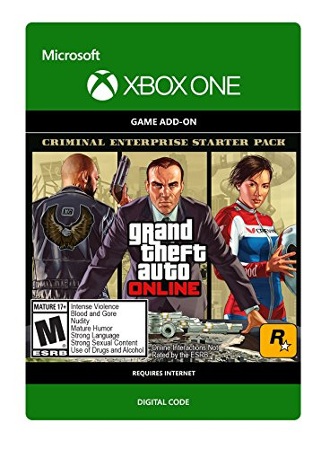 Grand Theft Auto V: Criminal Enterprise Starter Pack - Xbox One [Digital Code] by Rockstar
