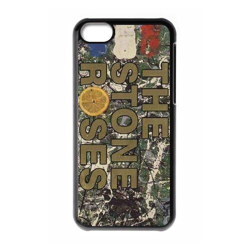 iPhone 5c phone case Black The Stone Roses PPKK9655215