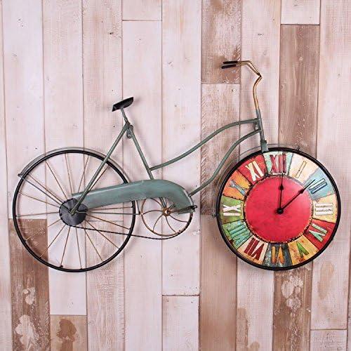 GDS Pueblo Americanas Hierro forjado. Bicicleta. Relojes pared uhr ...