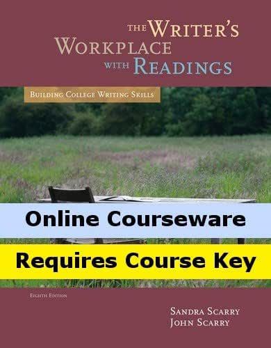 Amazon mindtap english for scarryscarrys the writers mindtap english for scarryscarrys the writers workplace with readings building college writing skills 8th edition 2 terms 12 months online access fandeluxe