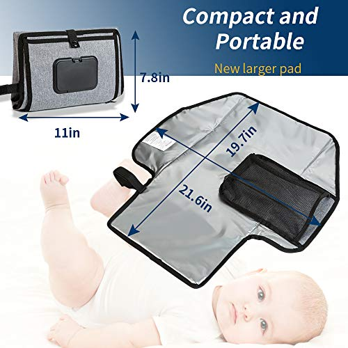 Funbliss Portable Diaper Changing Pad | Waterproof Portable Changing Pad Station