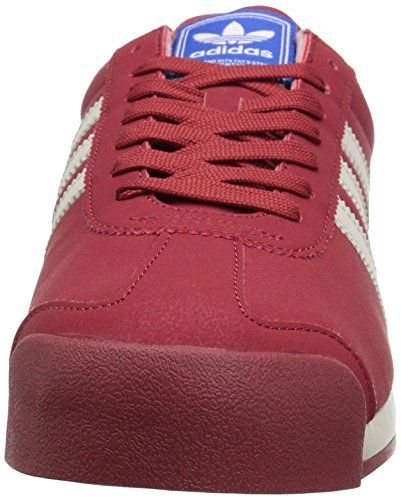 adidas Originals Herren Samoa Retro Sneaker Geheimnis Red Talk Satellite
