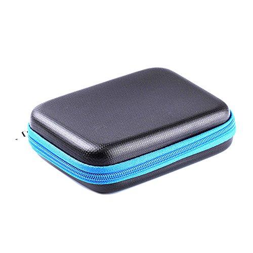 LuckyNV Travel Carrying Case Box for Polaroid ZIP Mobile Printer/HP Sprocket Portable Photo Printer/Lifeprint Photo and Video Printer (Blue) by LuckyNV