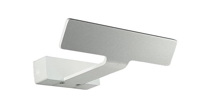 Fan europe applique con luce led integrata 4 w bianco 5 x 20