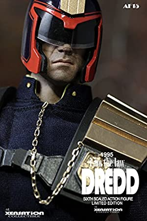 XENSATION JUDGE DREDD 1995 Tall Black Boots loose 1//6th scale