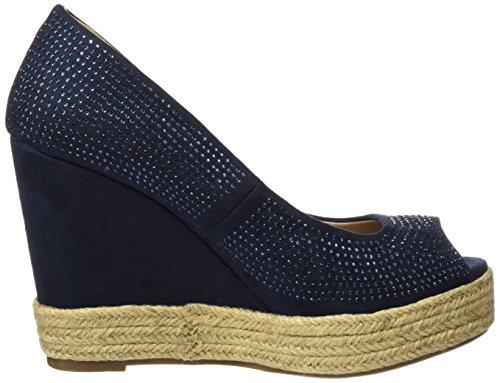 XTI Zapatos de tacón - Zapatos de tacón para mujer Navy