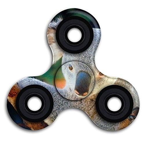 Koala Bear Holding A Tree Kids Tri-Spinner Fidget Toys For Adult And Kids Perfect For ADD,ADHD,and Anxiety