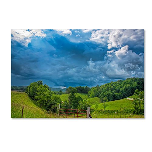 Mars Hill Gate by Bob Rouse, 30x47-Inch Canvas Wall Art (Rouse Hill)