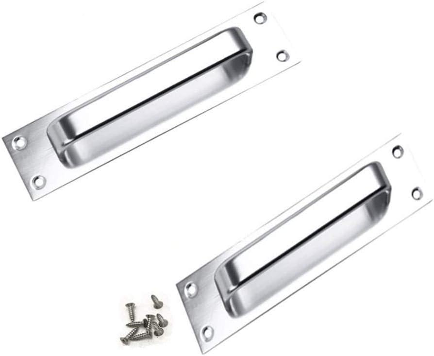 2pieza aleación de aluminio tirador para puerta corredera de ...