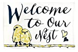 "Jozie B ""Welcome to Our Nest Cotton Indoor Rug, 24″ x 36"" Review"