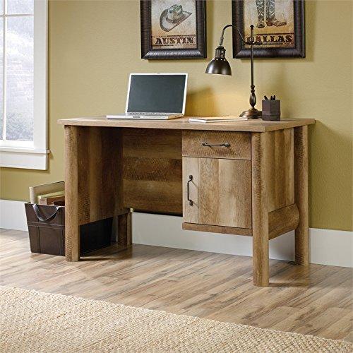 Sauder Boone Mountain Computer Desk in Craftsman Oak by Sauder