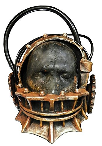 UHC Saw Reverse Bear Trap Scary Party Latex Halloween Costume Adult Mask - Reverse Bear Trap Costume