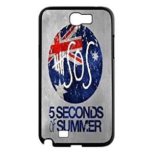 Custom High Quality WUCHAOGUI Phone case 5SOS music band Protective Case For Samsung Galaxy Note 2 Case - Case-19