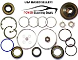 Power Steering Seals - Power Steering Rack and Pinion Seal Kit for Saturn Ion