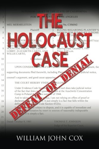 The Holocaust Case: Defeat of Denial