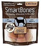 SmartBones Peanut Butter Dog Chew, Medium, 2 Pack