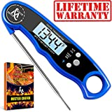 Waterproof Instant Read Thermometer - Best Digital Meat Thermometer - Electric Food Thermometer