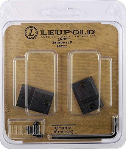 Leupold Qrw Quick Release - Leupold QRW Savage 110 2-pc
