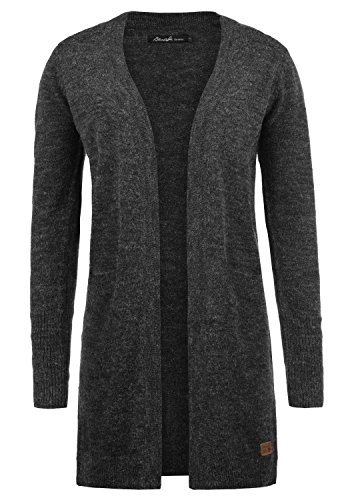 BLEND SHE Neli - Cardigan da Donna, taglia:XXL, colore:Charcoal (70818)