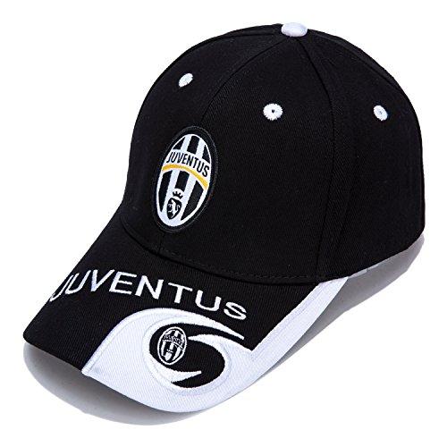 Juventus F.C. -Embroidered Authentic EPL Adjustable Black Baseball Cap – DiZiSports Store