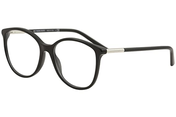 aceefda4b3 Burberry BE2128 Eyeglass Frames 3001-5216 - Black BE2128-3001-52