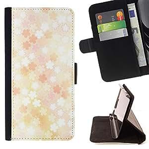 For Sony Xperia M2,S-type Patrón floral- Dibujo PU billetera de cuero Funda Case Caso de la piel de la bolsa protectora