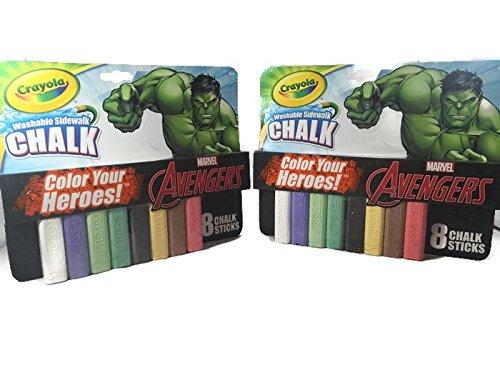 incredible-hulk-washable-sidewalk-chalk-2-pack