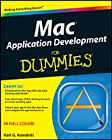 Mac Application Development For Dummies Front Cover