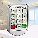 Zehui Code Locks Combination Lock Electronic Digital Number Keypad Password Lock for Cabinet Door Drawer