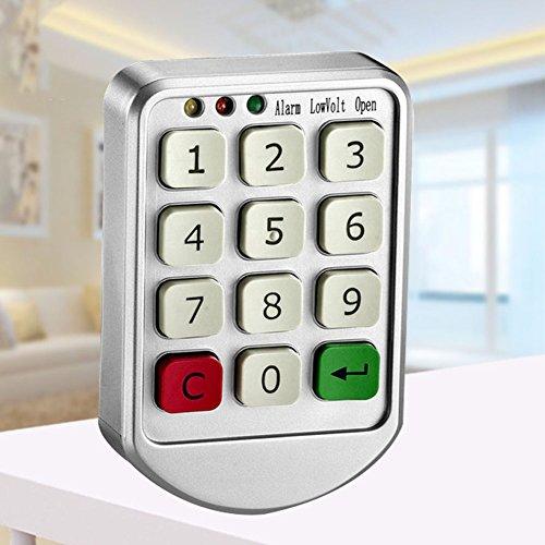 Zehui–Código Cerraduras Cerradura de combinación electrónico Digital numérico para puerta de clóset cajón de...