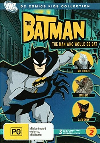 The Batman Volume 2 The Man Who Would Be Bat | Animated | NON-USA Format | PAL | Region 4 Import - Australia