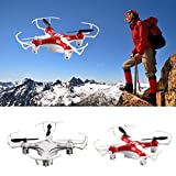 Dayseventh Mini Explorers RC Quadcopter 4CH 2.4GHz 6-Axis Gyro LED Drone 3D Flying