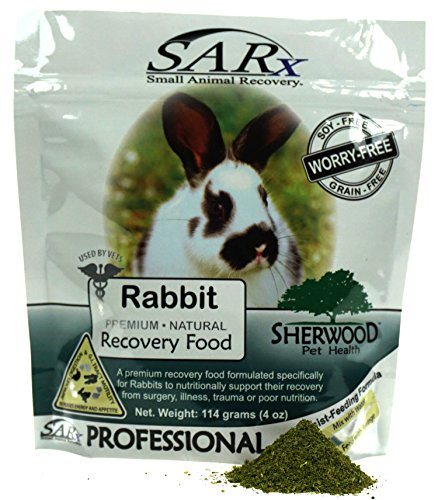 Recovery Food, Sherwood SARx for Rabbits - soy-free (compare to Critical Care)