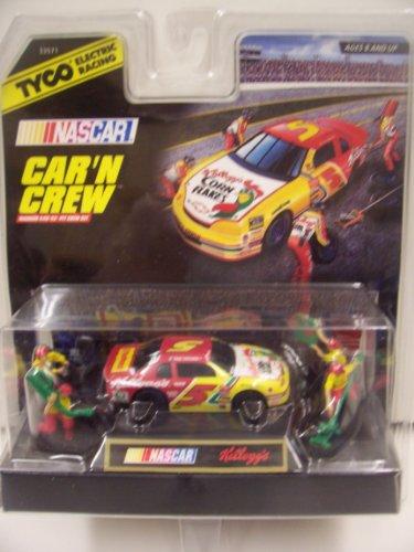 Tyco #5 Kellog's 1996 Chevy Monte Carlo Terry Labonte Car N' Crew